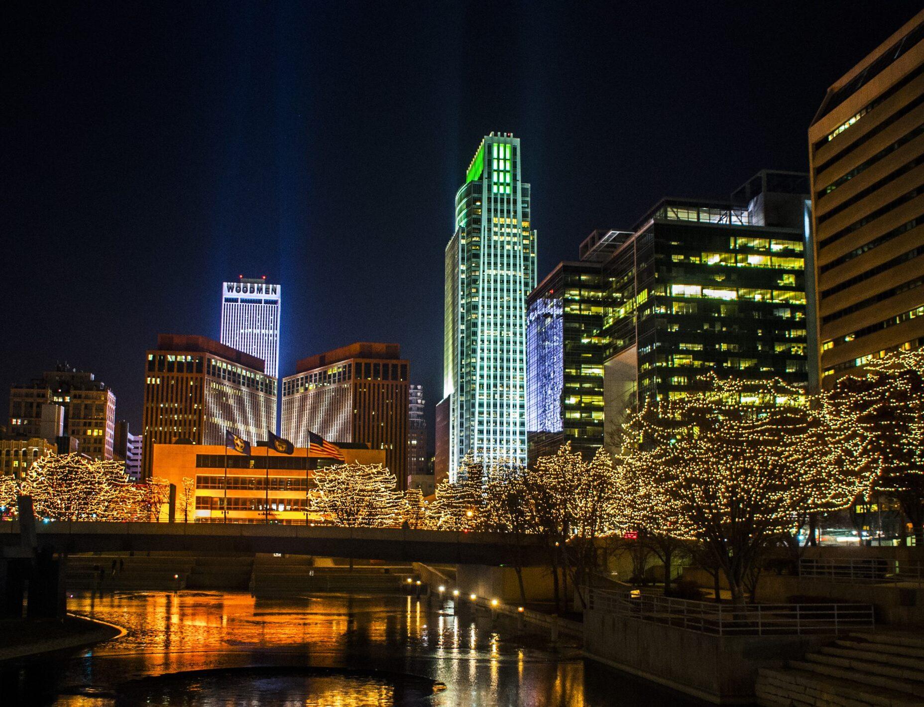 Omaha's Holiday on Glass