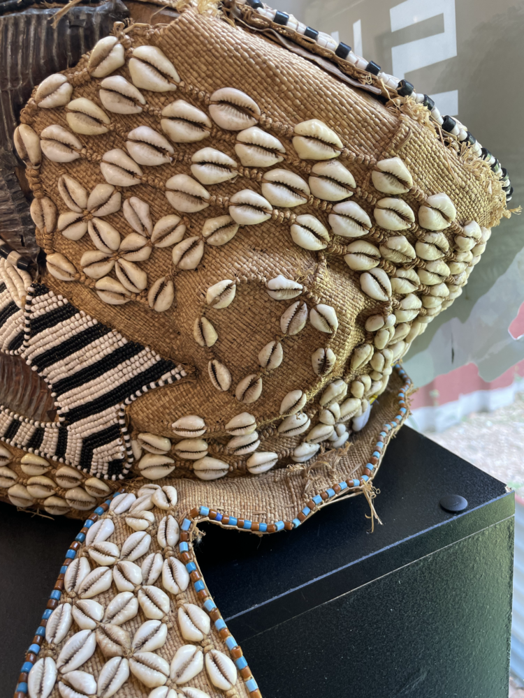 Bakuba African Helmet